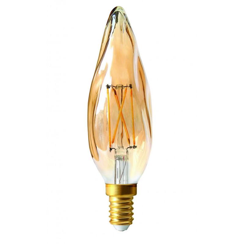 Ampoule LED 4W Dimmable Flamme Grand siècle Ambrée E14 - Girard Sudron