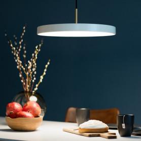 Suspension LED Asteria Blanc perle