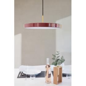 Suspension LED Asteria Rouge rubis