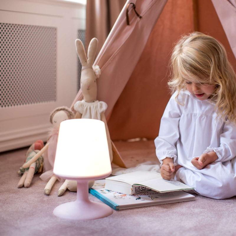 Lampe nomade LED Light to go Rose - Koziol