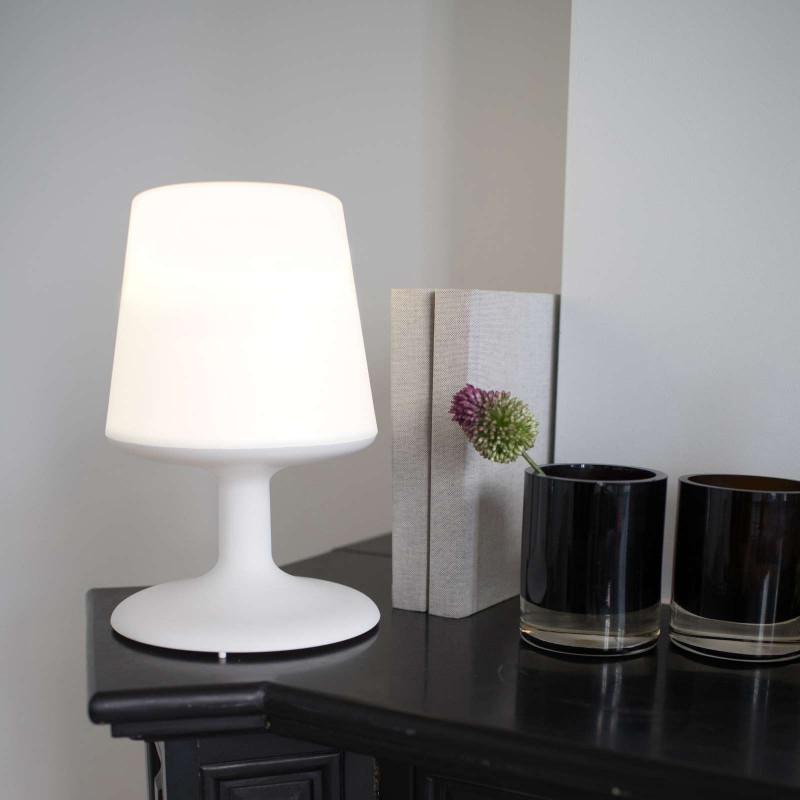 Lampe nomade LED Light to go Blanc - Koziol