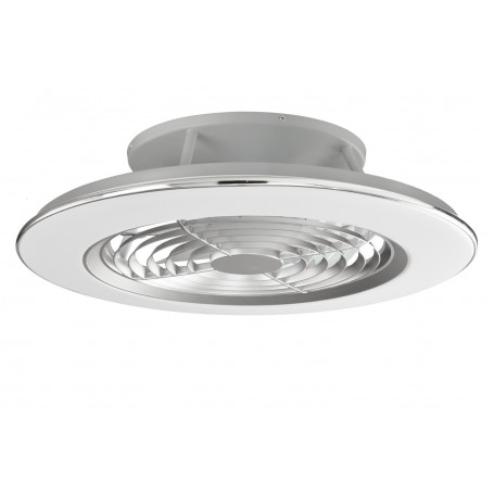Ventilateur de plafond à LED Alisio Chrome Mantra