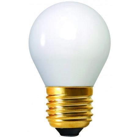 Ampoule LED à filament sphérique opaline E27