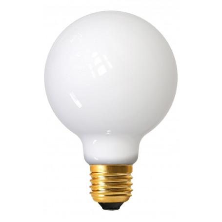 Ampoule LED à filament petit globe opaline E27