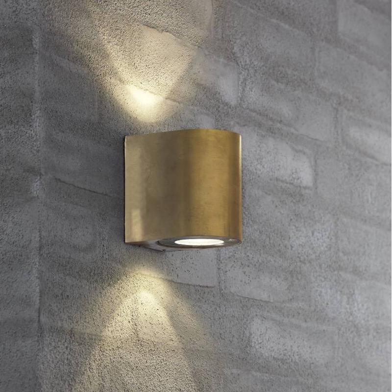 Applique d'extérieur LED Canto Laiton- Nordlux