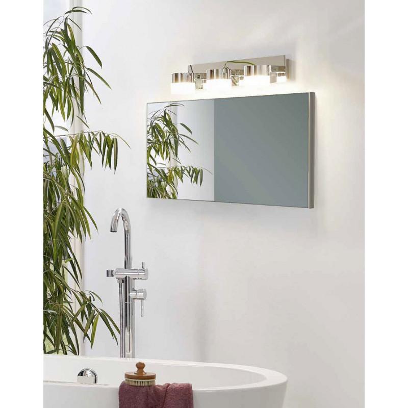 Applique de salle de bain 3 spots à LED - Briloner