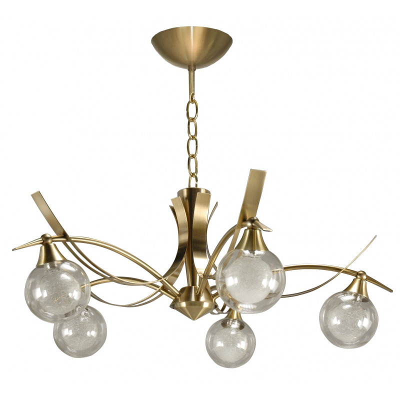 Lustre Maori 5 lampes 3 finitions