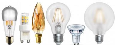 Vente en ligne d'ampoules LED et décoratives | Comptoir des Lustres