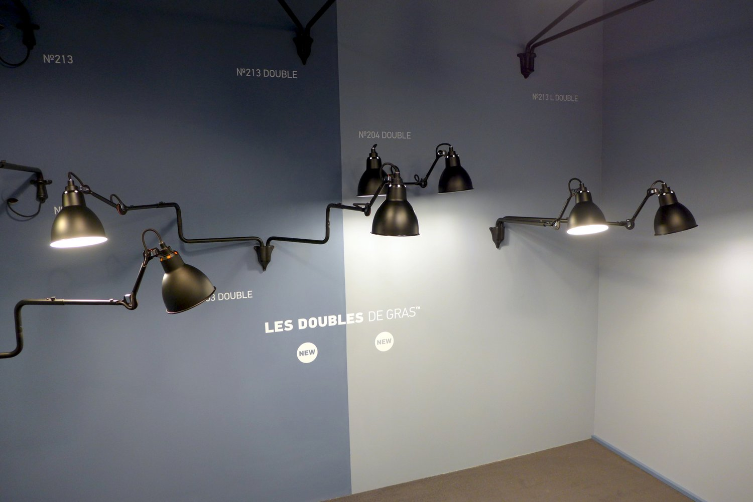 Lampe Gras version Double par DCW Editions