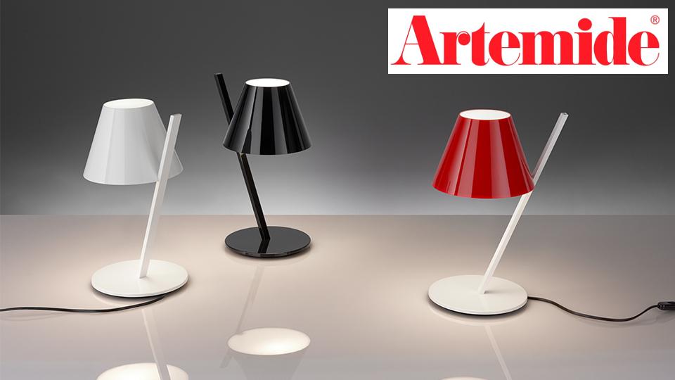 Nouveauté Artemide : lampe à poser La Petite